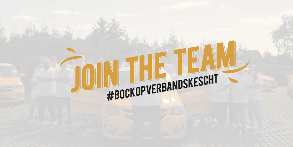 Join the Team Verbanskescht