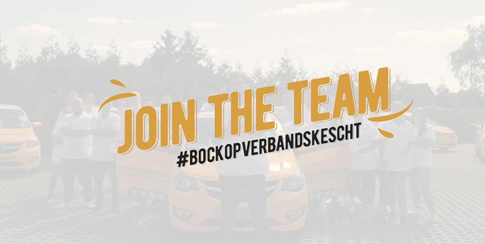 Join the Team Verbanskescht